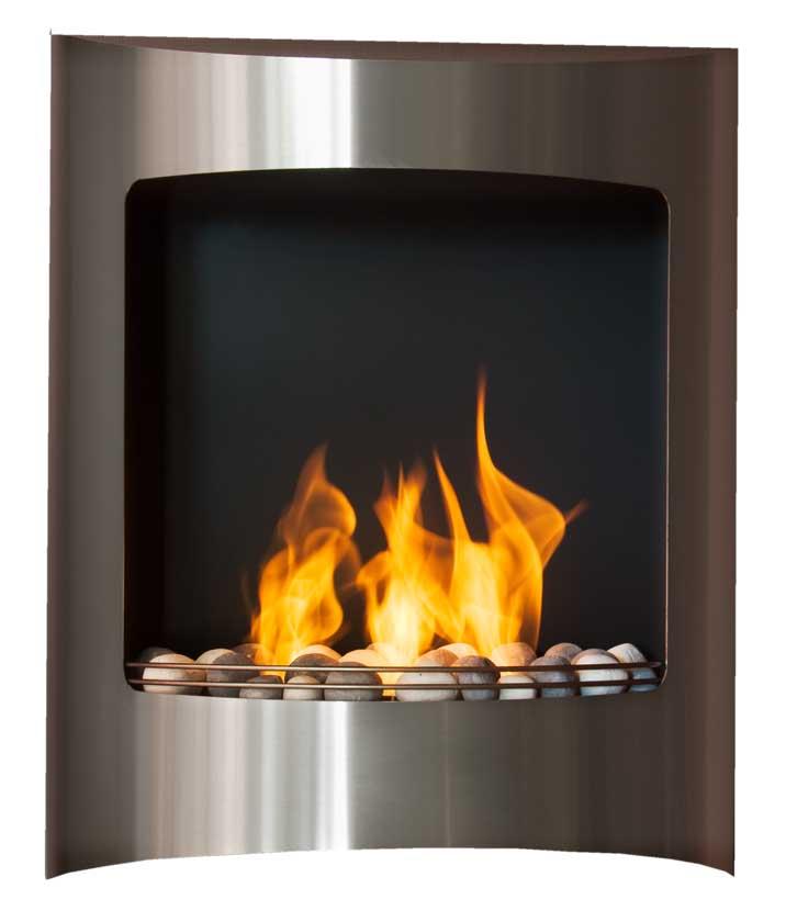 Spara energi och värm huset med en skorstensfri spis från Lundbergs.
