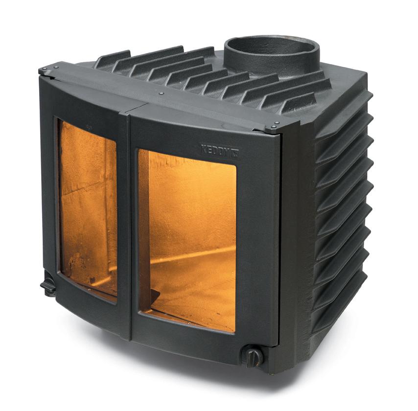 Värm upp ditt hus med brasvärme från Keddy, en spiskasset.