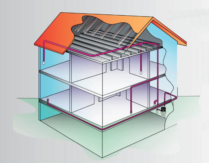Centraldammsugare, gör städningen enklare och förbättrer inomhusmiljön.