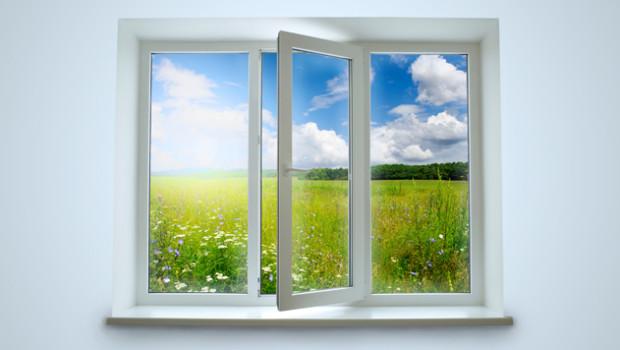 Att andas friks luft är viktigt = bra ventilation.
