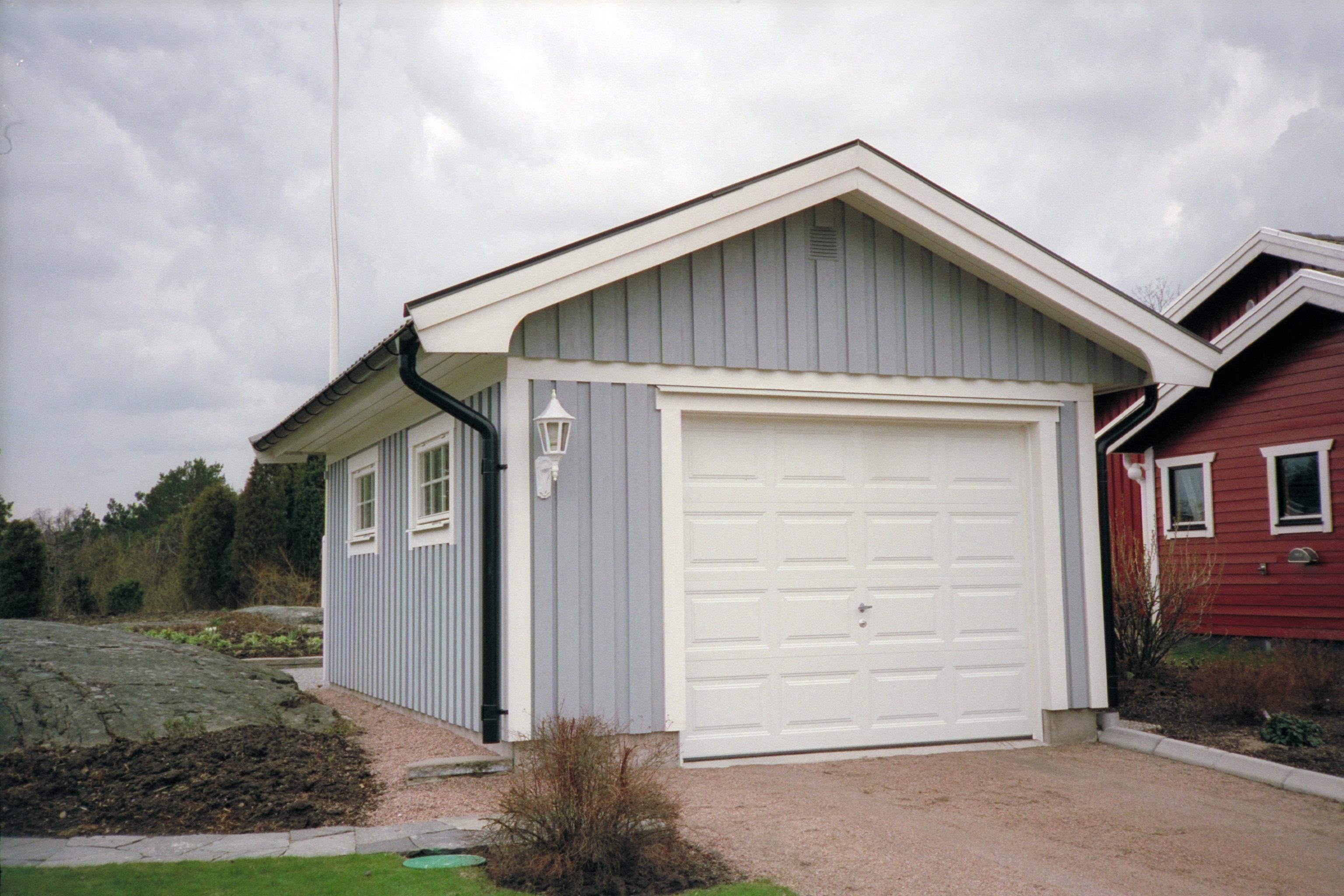 kostnad att bygga garage