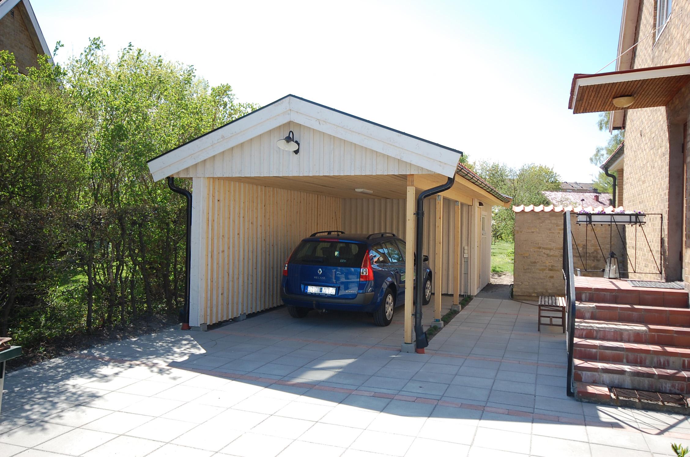 bygga ut garage
